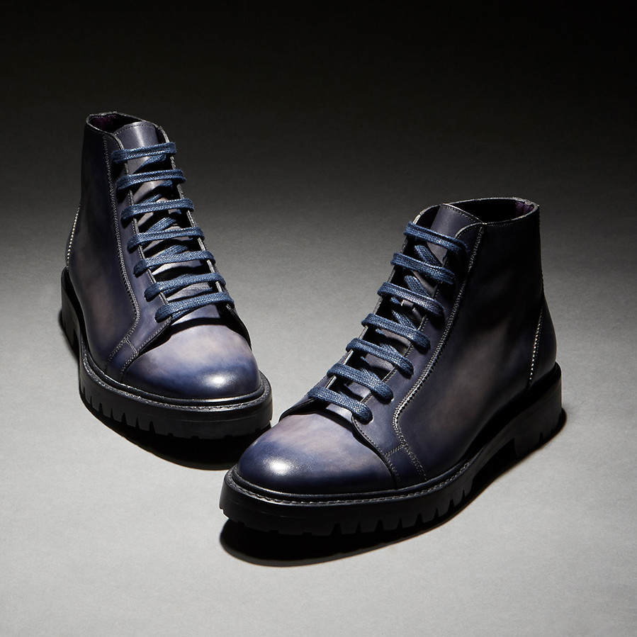 [Custommania X The shuri] PATINA DERBY BOOT BOT No.454