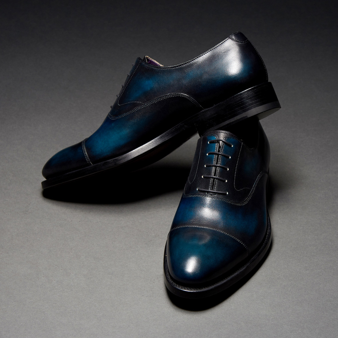 [Custommania X The shuri] PATINA STRAIGHT TIP OXFORD OFR No.251
