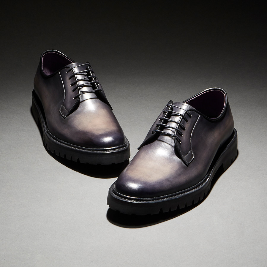 [Custommania X The shuri] PATINA PLAIN TOE DERBY DRB No.481