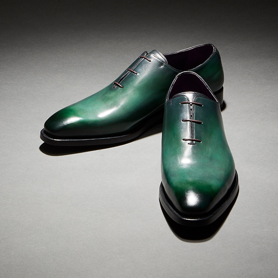 [Custommania X The shuri] PATINA PLAIN TOE OXFORD OFR No.384