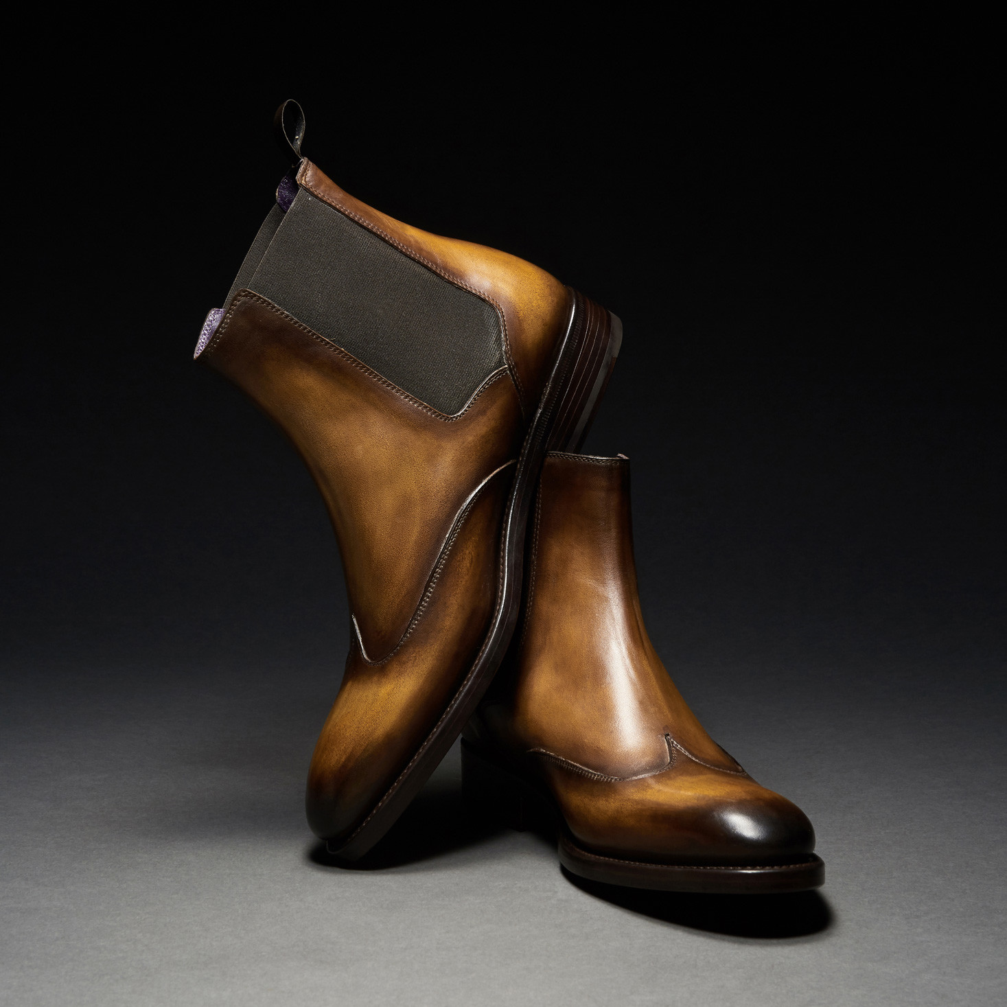 [Custommania X The shuri] PATINA CHELSEA BOOT BOT No.391