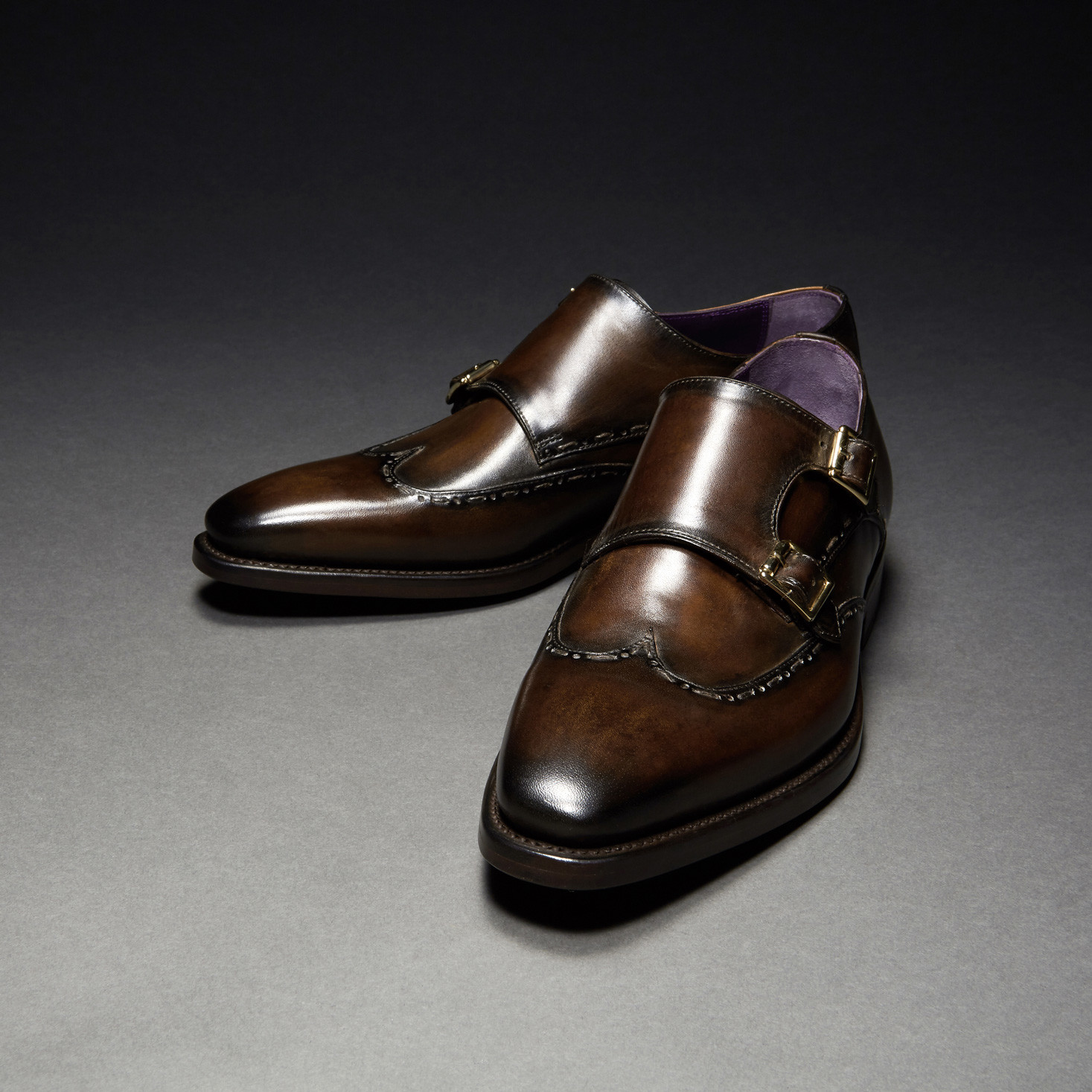[Custommania X The shuri] PATINA DOUBLE MONK STRAP MKS No.464