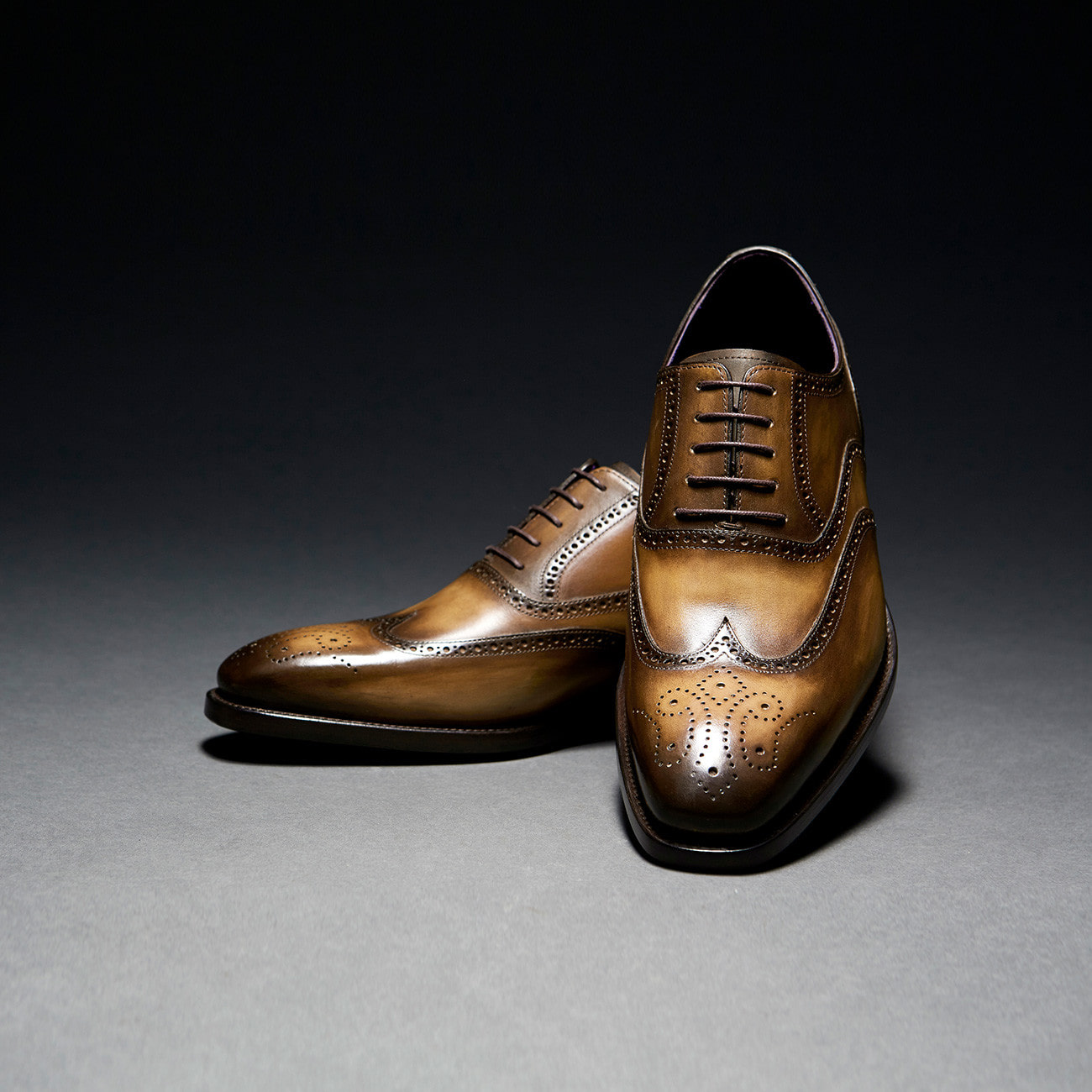 [Custommania X The shuri] PATINA WING TIP OXFORD OFR No.932