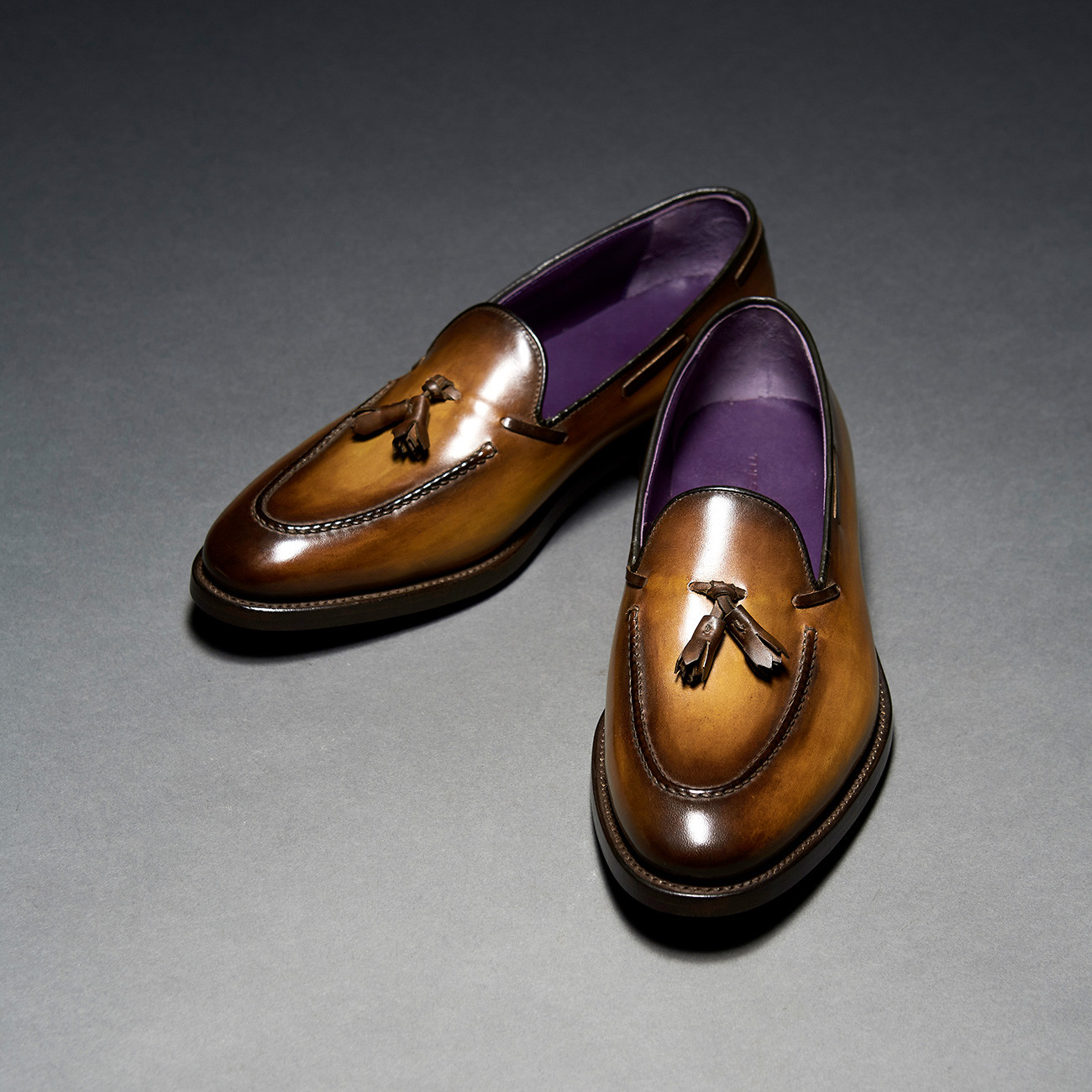 [Custommania X The shuri] PATINA TASSEL LOAFER LAF No.623