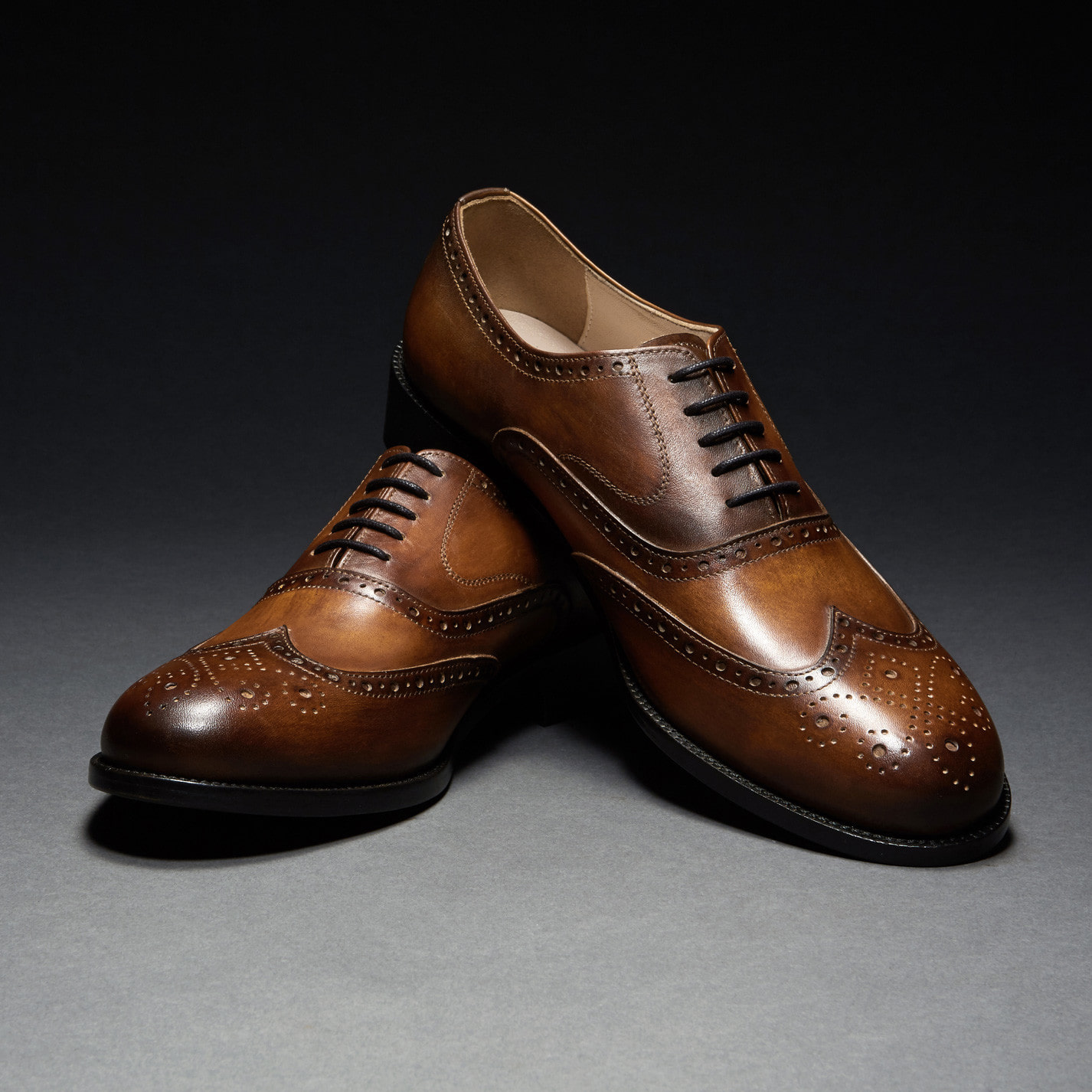 [Custommania X The shuri] PATINA WING TIP OXFORD OFR No.241