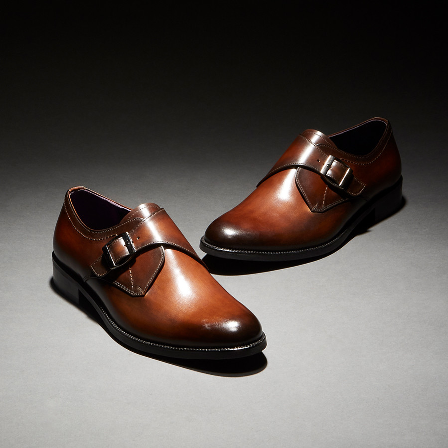 [Custommania X The shuri] PATINA MONK STRAP MKS No.465