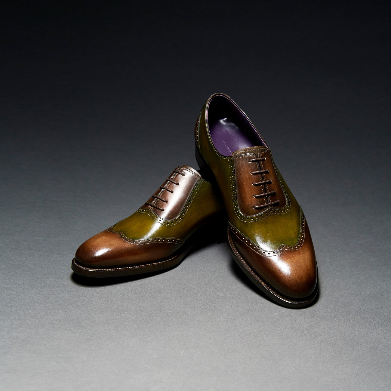 [Custommania X The shuri] PATINA WING TIP OXFORD OFR No.837