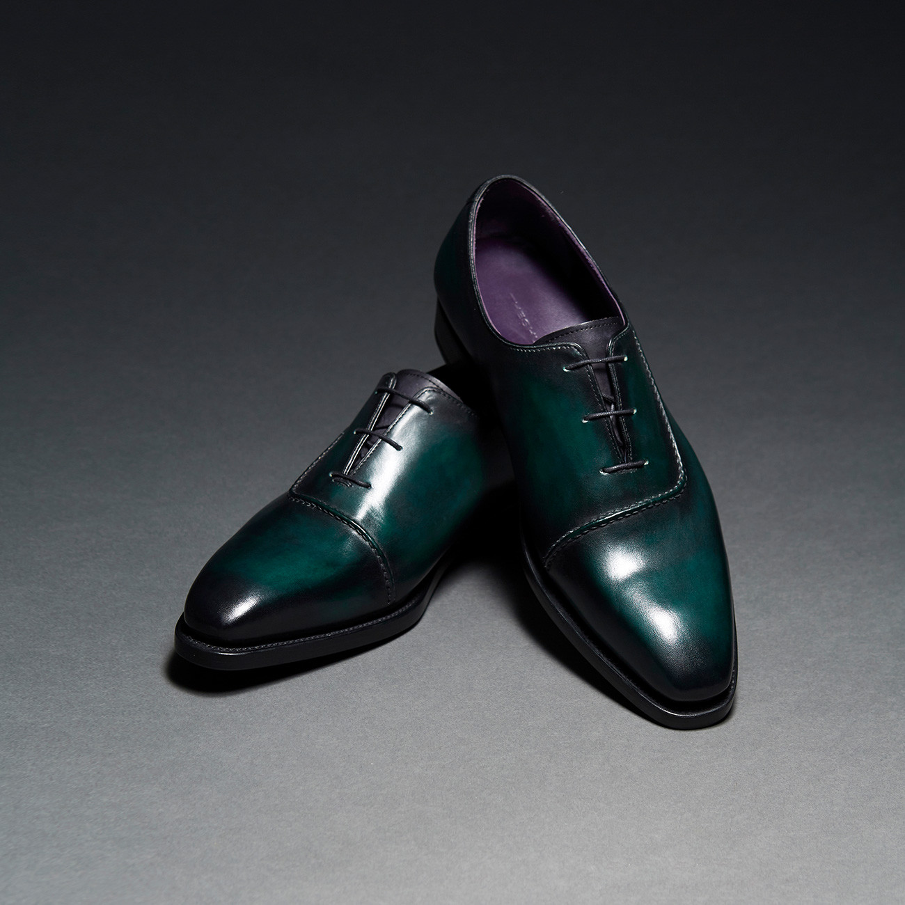 [Custommania X The shuri] PATINA PLAIN TOE OXFORD OFR No.310