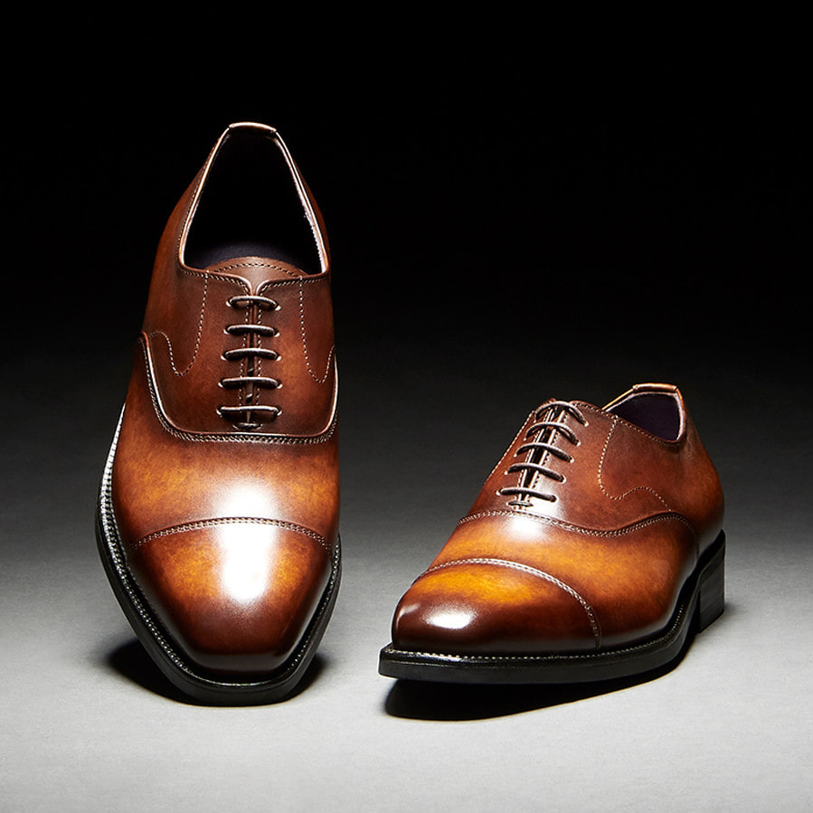 [Custommania X The shuri] PATINA STRAIGHT TIP OXFORD OFR No.176