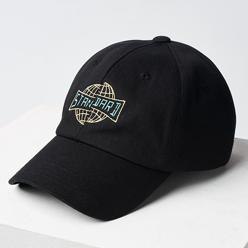 [Custommania X General Idea] Original pattern CAP BLACK